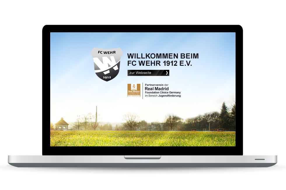 Web-Design FC Wehr / UTDESIGN