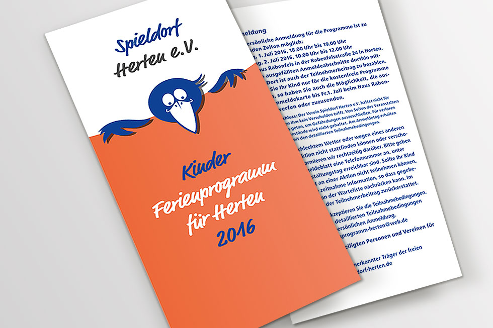 Corporate Design Spieldorf Herten / UTDESIGN