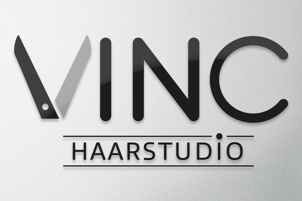Corporate Design Vinc Haarstudio / UTDESIGN